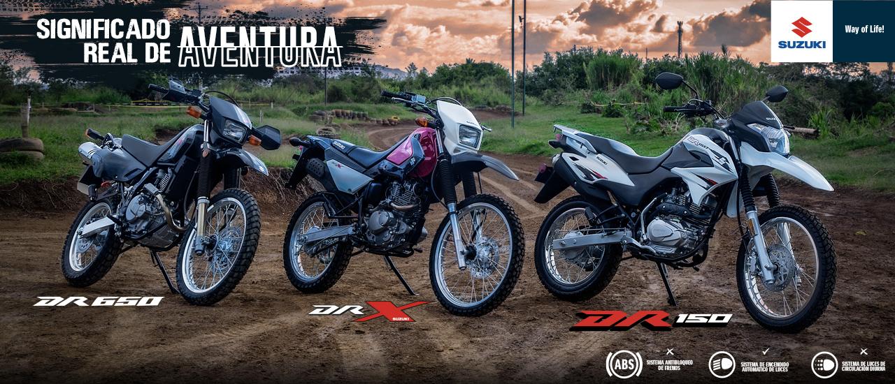 Slide Destacados Motocicletas FAMILIA DR
