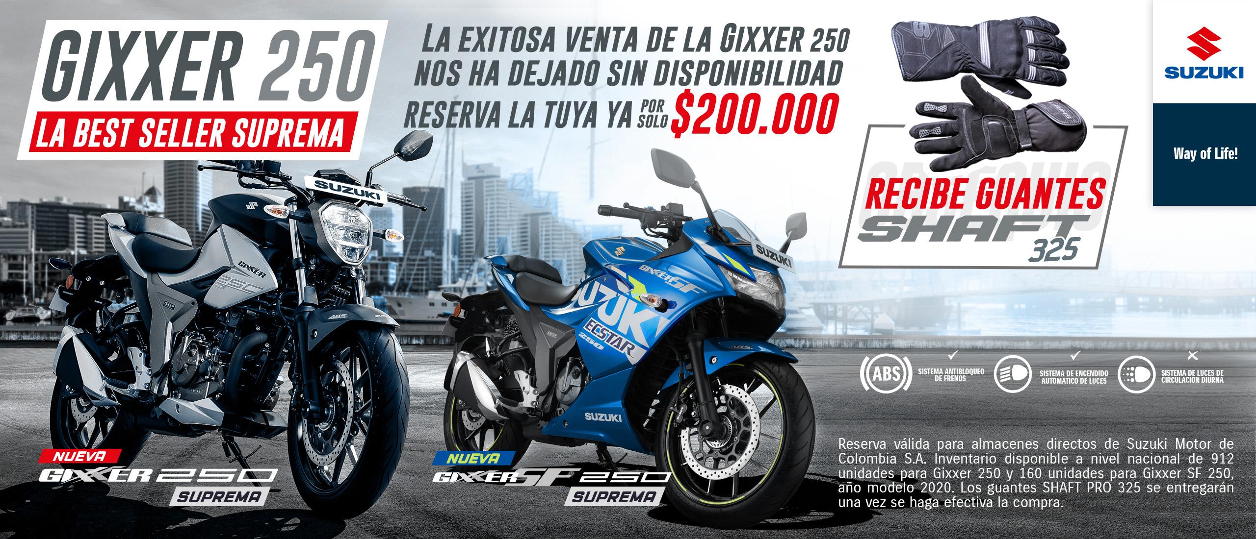 Gixxer 200 250